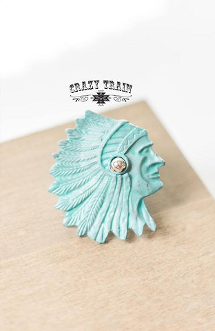 Crazy Train Indian Outlaw Slide Ring