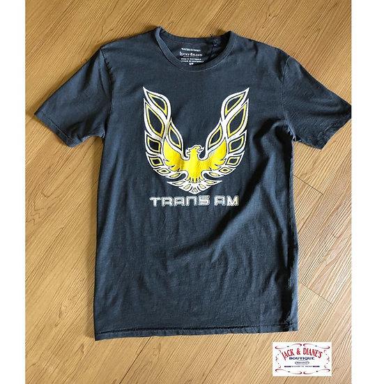 Lucky Brand Trans Am Bird SS Tee Black Mountain