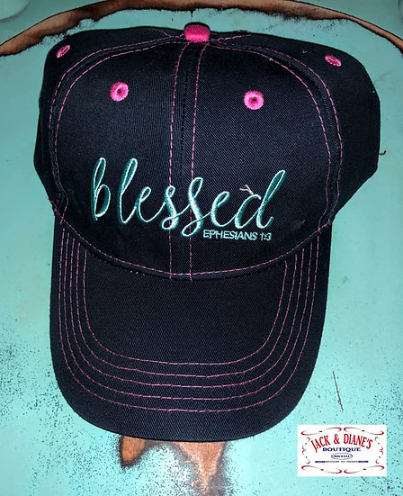 Cherished Girl Cap Blessed