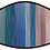 Thumbnail: Painted Stripes Cool Shield Face Mask