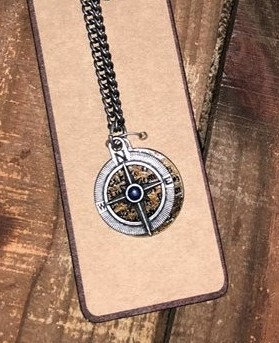 kerusso Compass Necklace