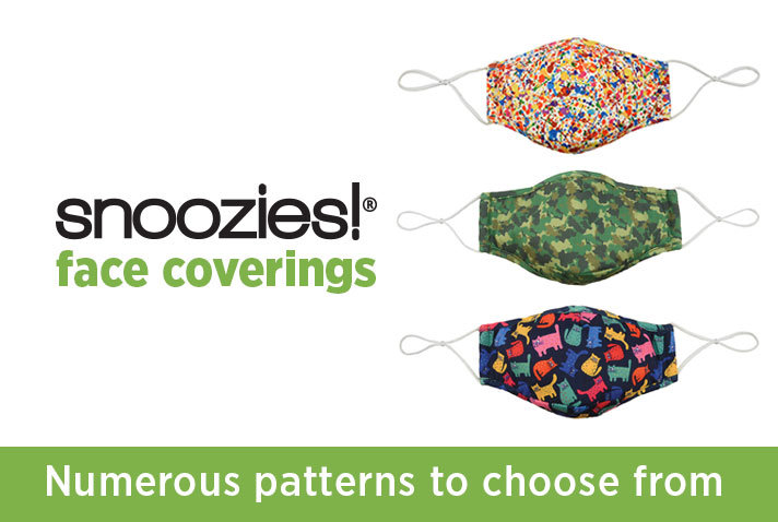 Snoozies Face Coverings
