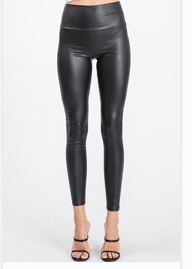 Faux Leather Slim Fit Leggings
