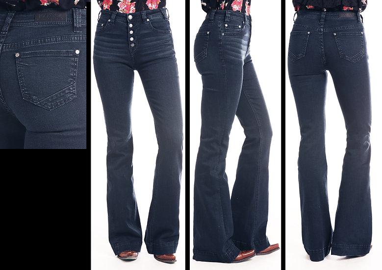Rock & Roll Cowgirl Trouser Extra Stretch Jeans