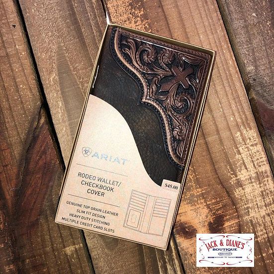 Ariat MEN'S Blessed Rodeo Wallet