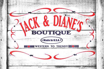 Jack & Diane's Boutique Logo
