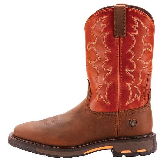 ARIAT WorkHog Wide Square Toe Work Boot 10005888