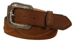 B34 - RockinLeather Crazy Honey Cowhide Leather Belt