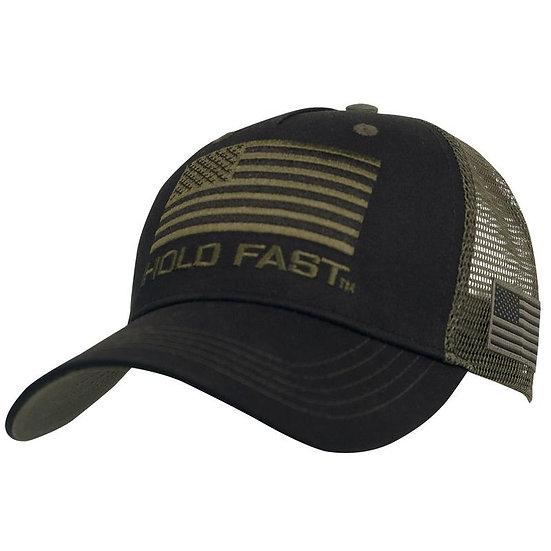 Hold Fast Flag Cap, Black KERUSSO