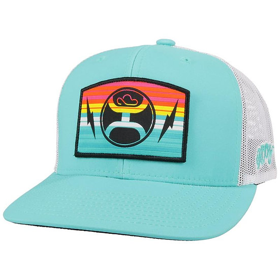 HOOEY San Lucas Turquoise White Hat