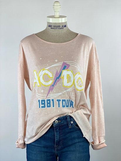 Lucky Brand ACDC 1981 Tour Tee