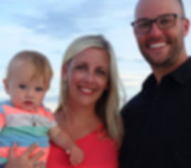 Dr. Kaitlin Parker and family.