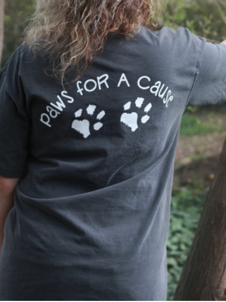 Two Paws Short Sleeve Tee