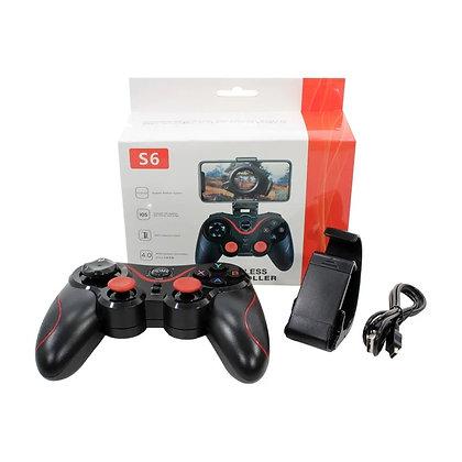 S6 Wireless Bluetooth Gamepad Handle Controller