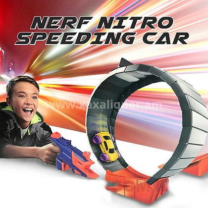 """Մեքենաներ կրակող զենք ճանապարհով """"nerf"""""""