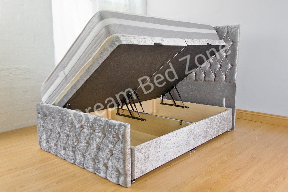 Brilliant A High Quality Deep Storage Ottoman Bed On Special Offer Ncnpc Chair Design For Home Ncnpcorg