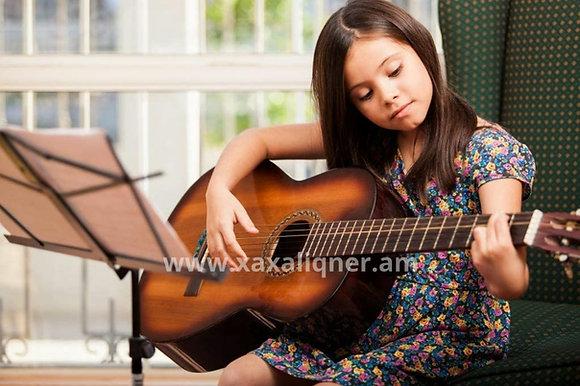 "Փայտե կիթառ ""classical guitar"""