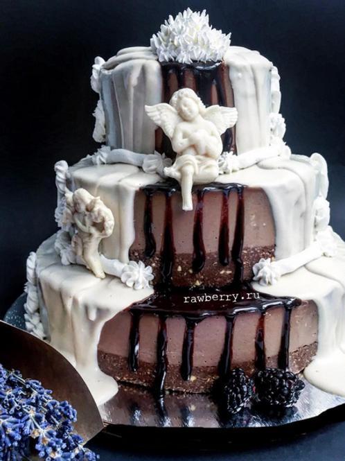 Cвадебный торт без мастики