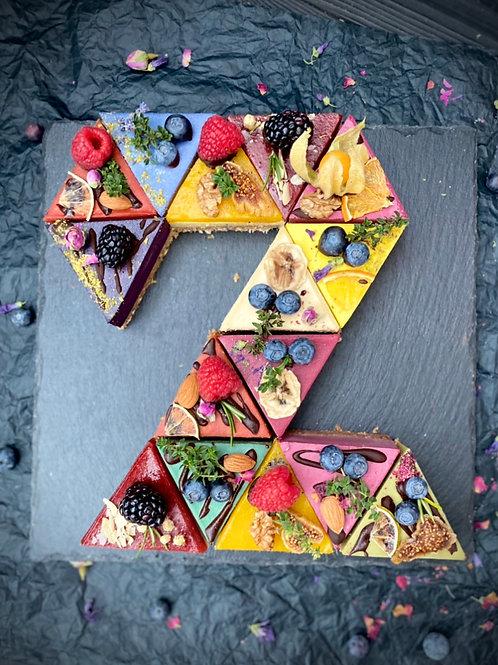 Торт Цифра 2