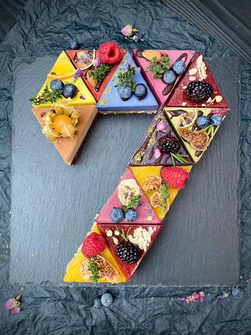 Торт Цифра 7