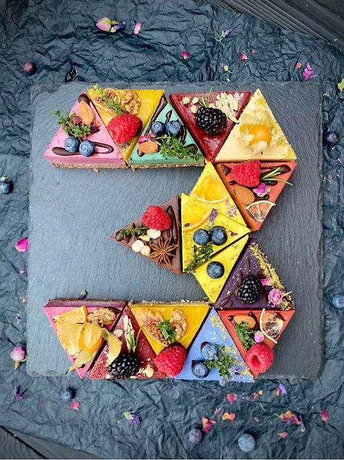 Торт Цифра 3