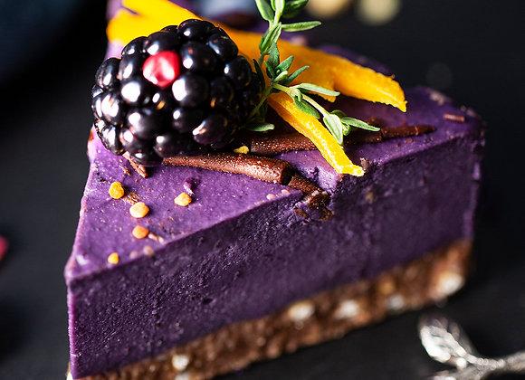 Торт Черника кусочки (3 шт)