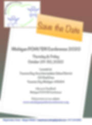 Michigan POHI_SXI Conference 2020 Flyer