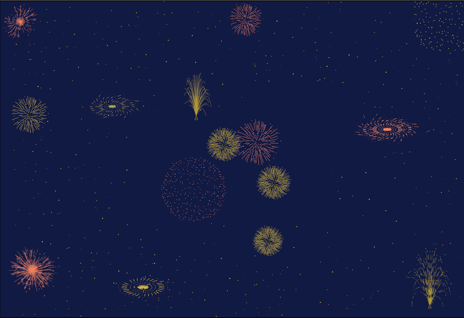 The firework graphics