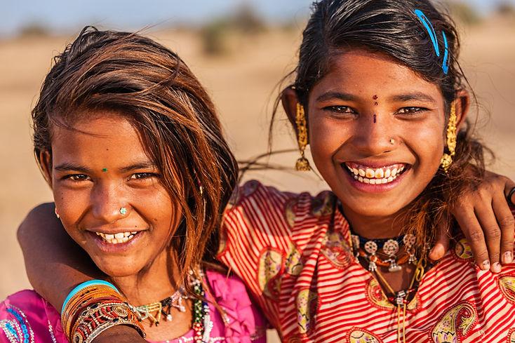 filles heureux