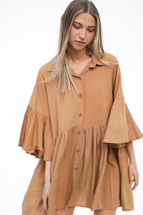 Camisola Yaffa Camel
