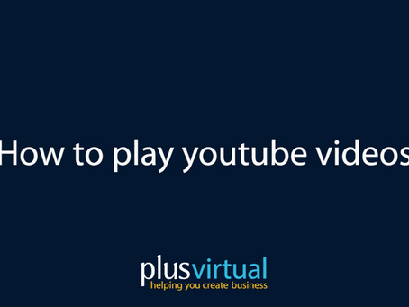 How to play Youtube videos