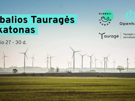 Globalios Tauragės hakatonas – virtualus idėjų maratonas pritraukęs daugiau kaip 1700 žiūrovų ir dal