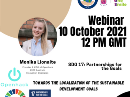 Webinar: Towards the localization of the sustainable development goals