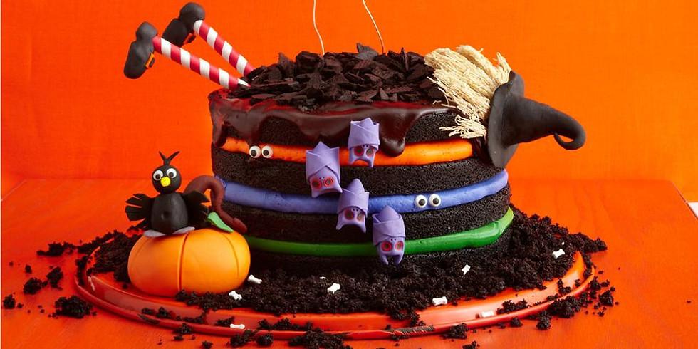 Witch cake Halloween