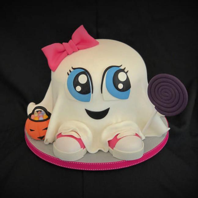 Spook 3D taart