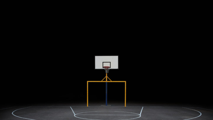 Lauren Marsolier - Basketball Court