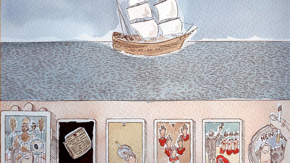 Jennifer May Reiland - Tarot Cards #4