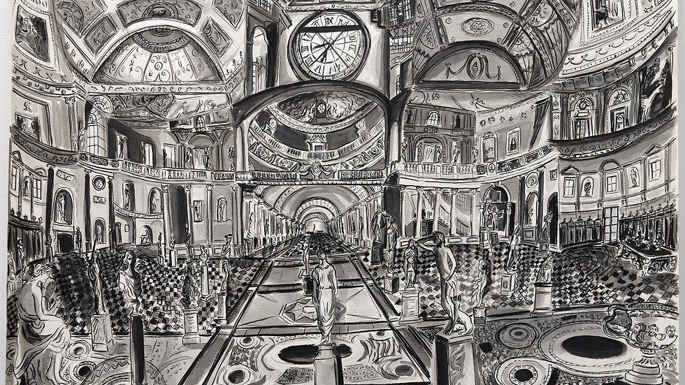 Gretchen Scherer - Study For The Weight Of Time