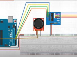 Controlling stepper motor with Joystick Sensor and Arduino