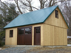 20' x 24' Post and Beam Barn