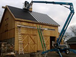 24' x 28' Timber Frame Garage