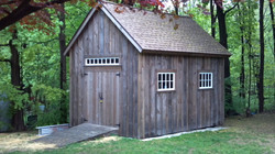 12' x 16' Post and Beam Shed