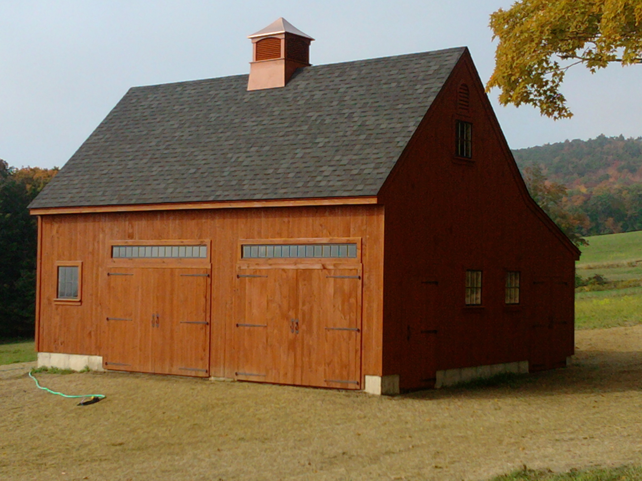 26' x 32 Timber Frame Broken Saltbox