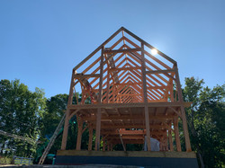 30' x 70' Timber Frame Barn Frame