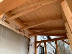 Timber Frame Screen Porch