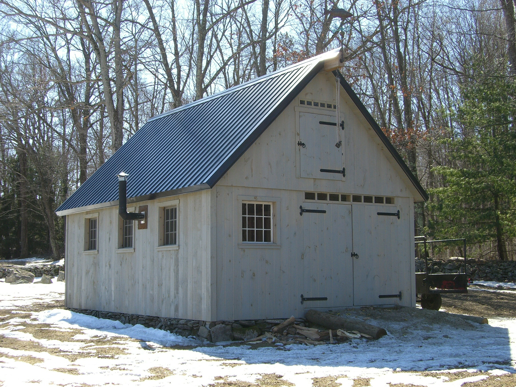 16' x 20' Post and Beam Barn