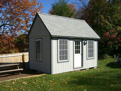 10' x 16' Post and Beam Shed