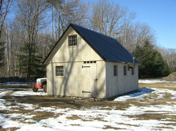 16' x 24' Post and Beam Barn