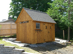 8' x 12' Post and Beam Shed