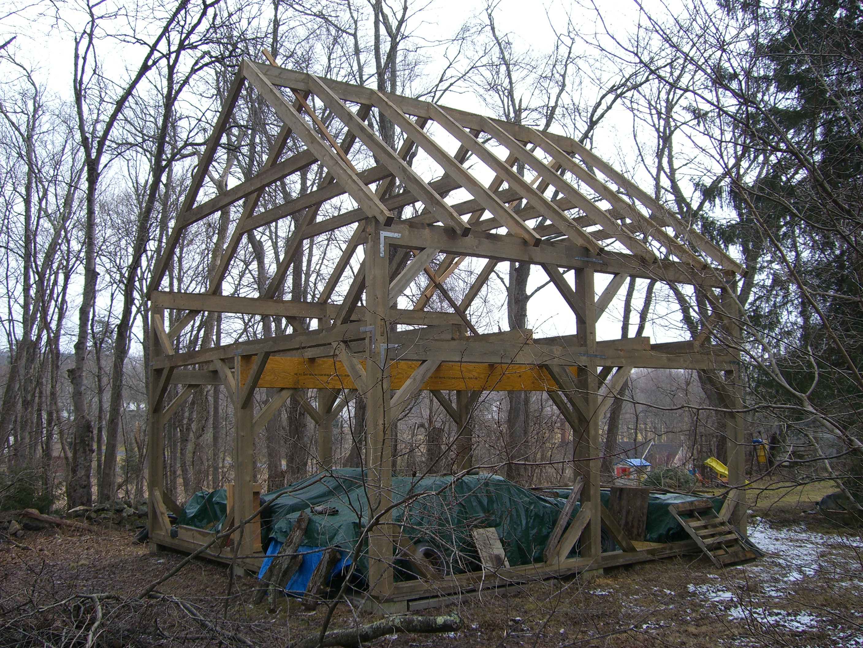24' x 24' Timber Frame Barn